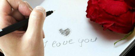 Carta de declaración de Amor