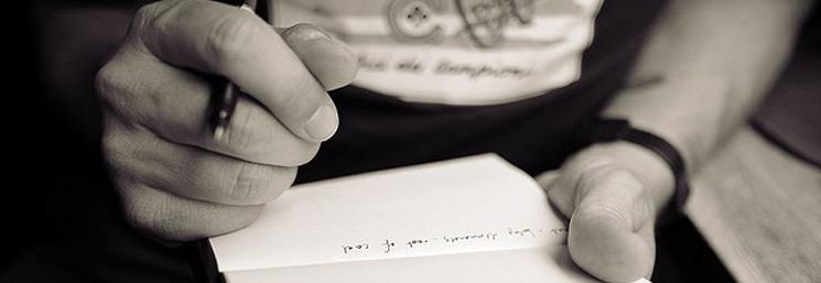 Como escribir una carta de amor para llorar