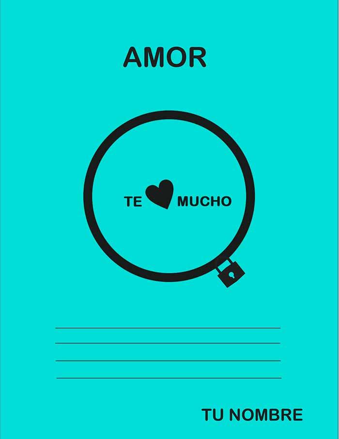 diseño de carta de amor personalizable