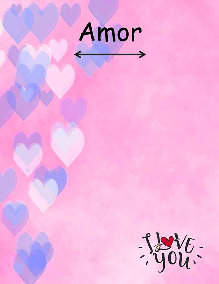 modelo de carta de amor para imprimir
