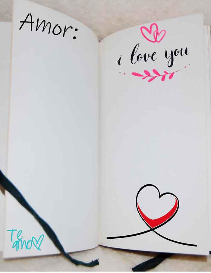 plantilla de carta de amor para imprimir