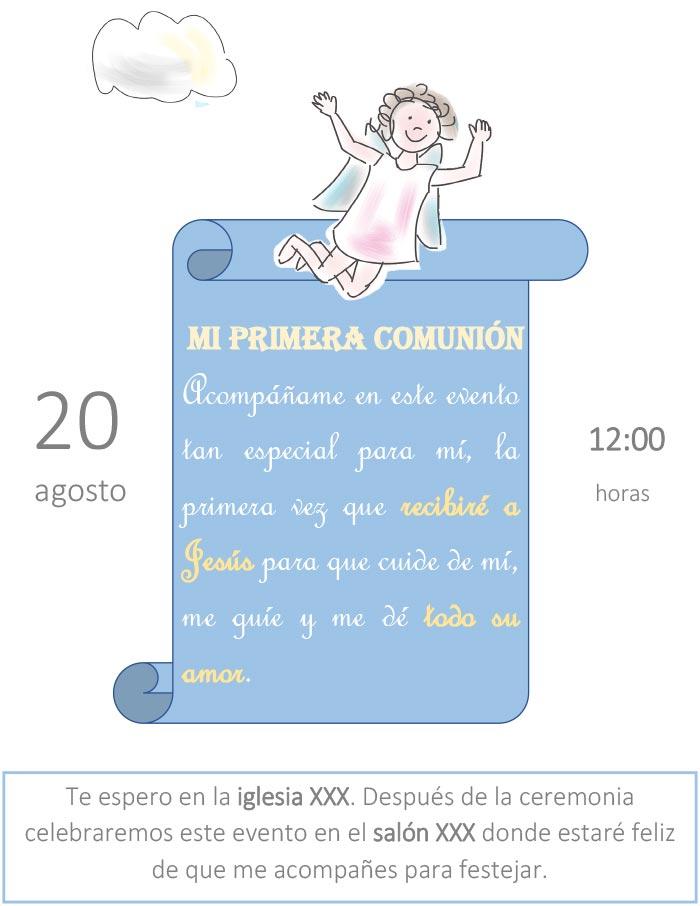 Tarjeta De Invitación Para Cumpleaños Infantil Gratis