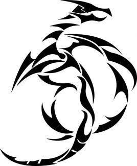 tatuaje dragón chino