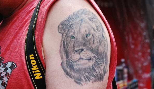 tatuaje león símbolo