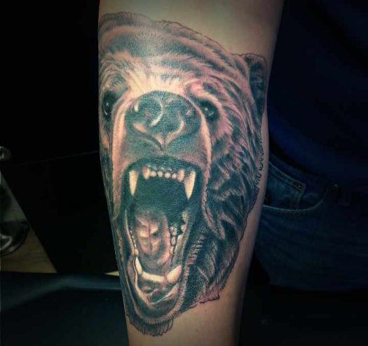 tatuaje oso significado